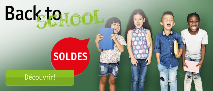 Back to School – Soldes!