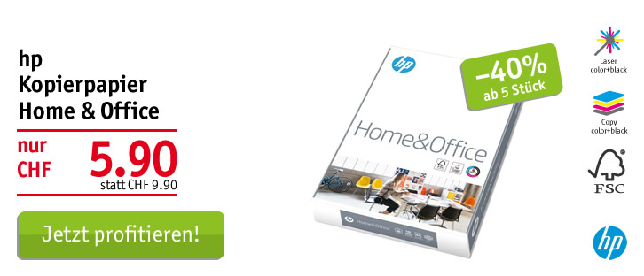 HP Home & Office Papier