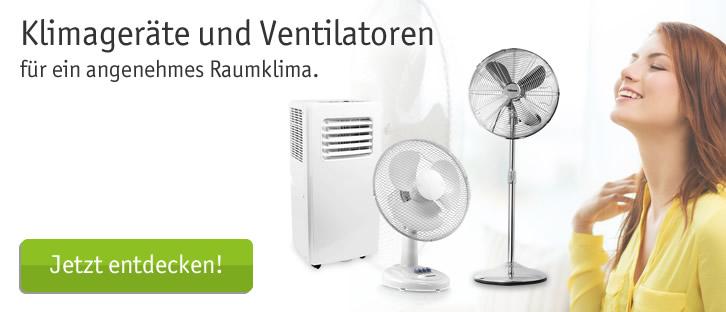 Klimageräte und Ventilatoren