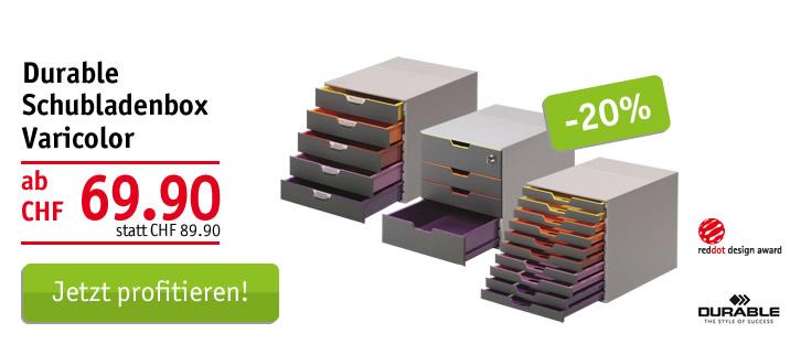 Durable Schubladenbox Varicolor