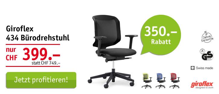 Giroflex 434 Bürodrehstuhl