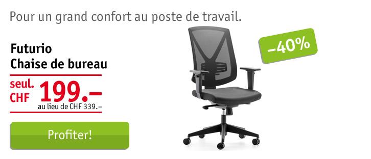 Futurio chaise de bureau