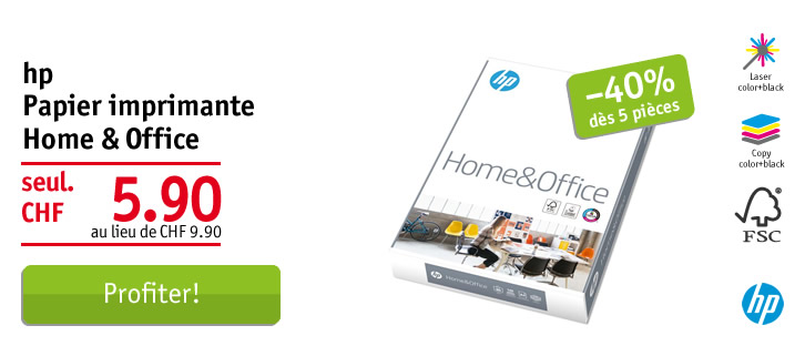 HP Home & Office papier