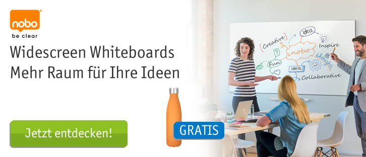 Nobo Widescreen Whiteboards