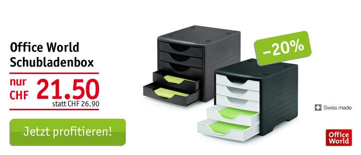 Office World Schubladenbox