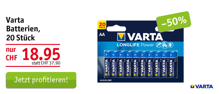 Varta Batterien Longlife Power AA/LR6