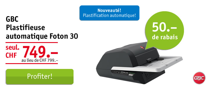 GBC plastifieuse automatique Foton 30