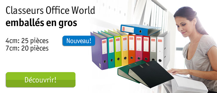 Office World classeurs